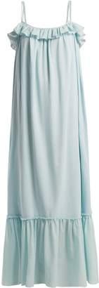 LOUP CHARMANT Artemis cotton maxi dress