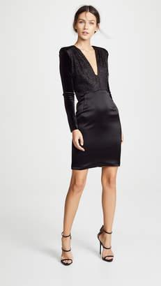 HANEY Stam U Neck Mini Dress