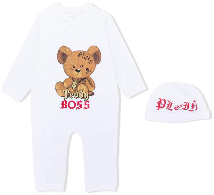 Philipp Plein Junior teddy pajamas