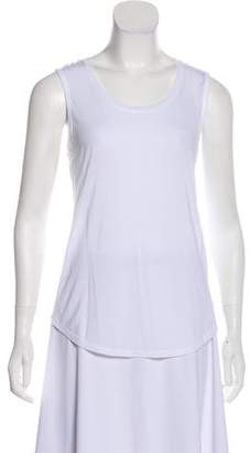 ATM Anthony Thomas Melillo Asymmetrical Sleeveless Top