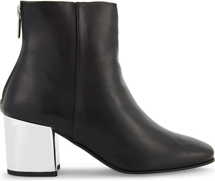 Aldo Itta leather heeled ankle boots