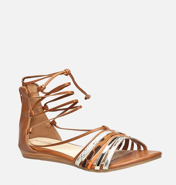 Colby Lace-Up Gladiator Sandal