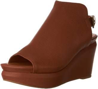 Gentle Souls Women's Jasper Peep-Toe Wedge Sandal