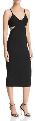 Alexander Wang Cutout Jersey Dress
