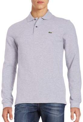 Lacoste Long-Sleeve Pique Polo