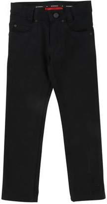 Givenchy Denim Pants w/ Back Leatherette Pocket, Size 12-14