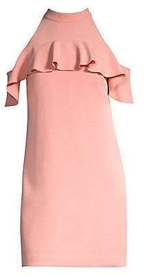 Trina Turk Women's Superbloom Laelia Cold-Shoulder Dress