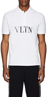 Valentino Men's Logo Cotton Polo Shirt