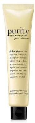philosophy Purity Pore Extractor Exfoliating Clay Mask