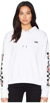Vans Patchwork Checker Hoodie Women's Sweatshirt