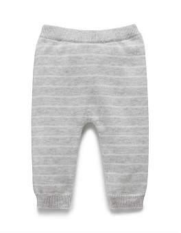 Purebaby Stripe Knit Legging