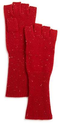 Aqua Donegal Cashmere Fingerless Gloves - 100% Exclusive
