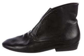 Marsèll Leather Laceless Ankle Boots