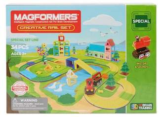 Magformers Creative Rail 34-Piece Set