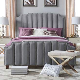 Homevance HomeVance Adalee Upholstered Velvet Bed