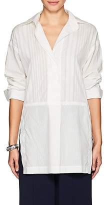 Victor Alfaro Women's Combo Cotton Tunic - White