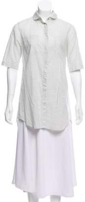 Rag & Bone Gingham Button-Up Shirt