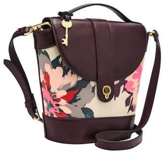 Fossil Clara Bucket Bag Handbags Floral