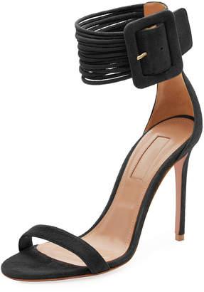 Aquazzura Casa Blanca Ankle-Cuff Sandal