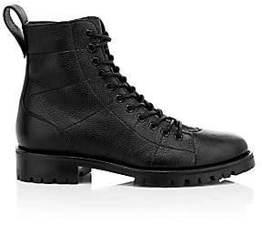 Jimmy Choo Women's Cruz Leather Combat Boots