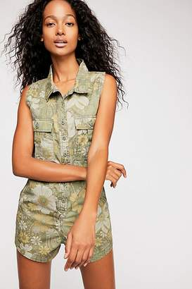 Spell And The Gypsy Collective Eden Camo Romper