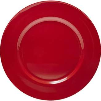 Calypso Basics, 6pc Melamine Salad Plate Set, White