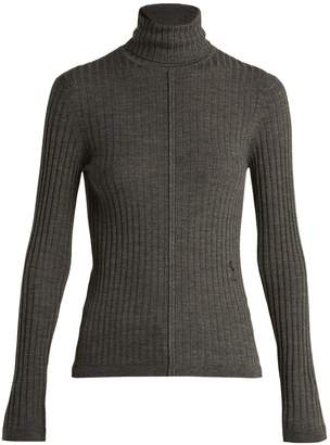 Chloé Ribbed-knit wool roll-neck sweater
