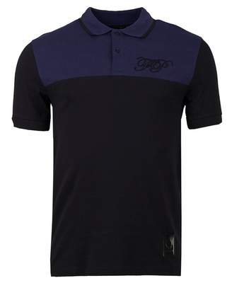 Raf Simons Fred Perry Embroidered Initial Pique Polo Shirt Colour: Pol