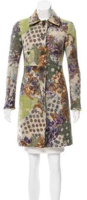 Etro Patterned Wool Coat