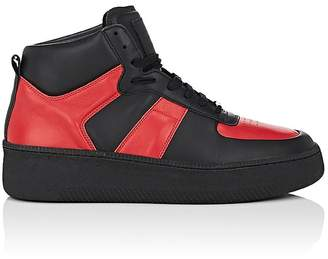 Maison Margiela MEN'S THICK-SOLE LEATHER SNEAKERS