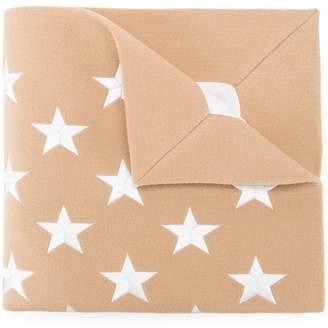 Gareth Pugh star pattern wrap scarf
