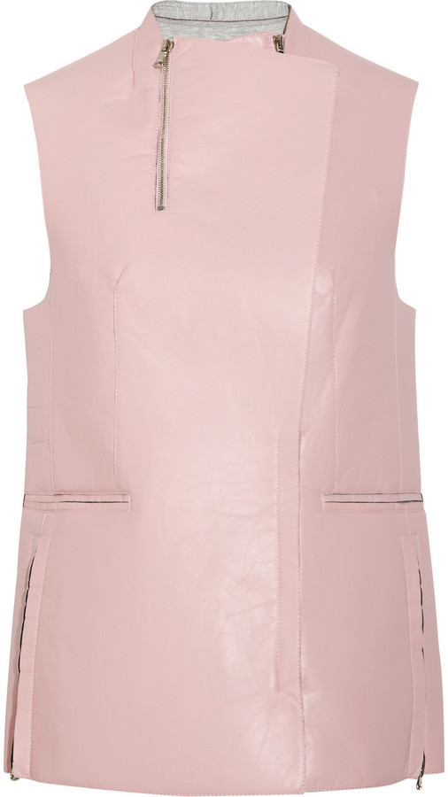 3.1 Phillip Lim Leather biker vest