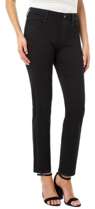 Liverpool Gia Glider Pull-On Straight Leg Jeans