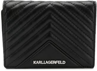 Karl Lagerfeld K/Klassik quilted wallet
