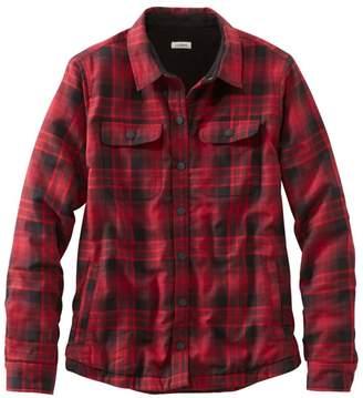 78708acda3d54 L.L. Bean L.L.Bean Women s Fleece-Lined Flannel Shirt