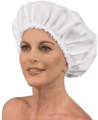 Betty Dain White Headline Satinette Sleepwear