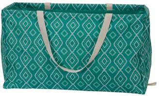 Household Essentials Krush Rectangle Utility Tote Bag, Teal