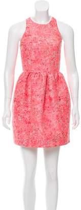 Markus Lupfer Jacquard Mini Dress