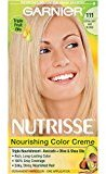 Garnier Nutrisse Nourishing Color Creme, 111 Extra-Light Ash Blonde (White Chocolate)(Packaging May Vary) $8.22 thestylecure.com