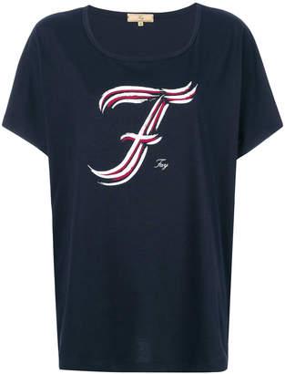 Fay logo print T-shirt