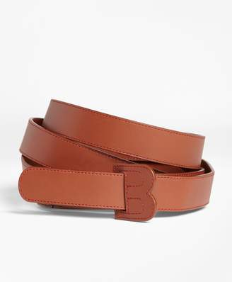 Brooks Brothers Double-Wrap Leather Belt