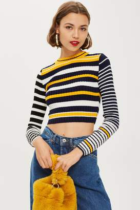 Topshop TALL Cropped Jumper