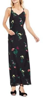 Vince Camuto Topic Heat Tropic Garden Sleeveless Maxi Dress