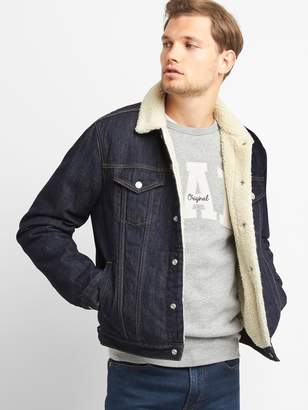 Gap Sherpa-lined icon denim jacket