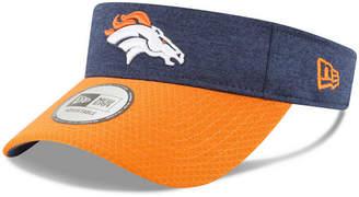 New Era Denver Broncos On Field Sideline Visor
