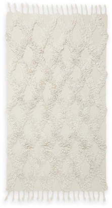 "N. Madison Industries 36"" x 60"" Diamond Shag Accent Rug"