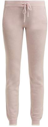 Pepper & Mayne - Cashmere Track Pants - Womens - Light Pink
