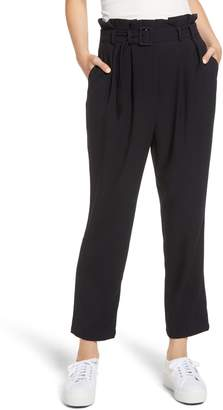 The Fifth Label Chemistry Paperbag Waist Crop Pants