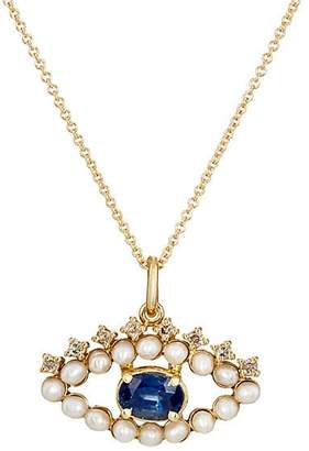 Ileana Makri Women's Eye Pendant Necklace