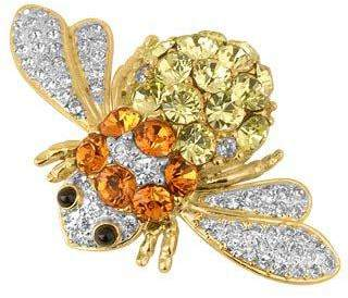 A-Z Collection Beetle Brooch